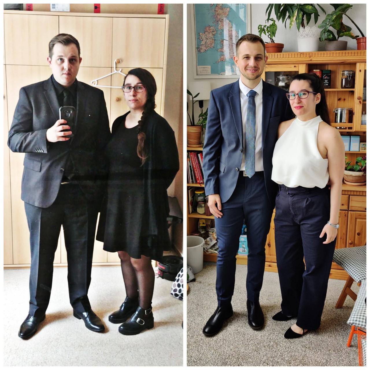 5'11 Male Before and After 93 lbs Fat Loss 267 lbs to 174 lbs
