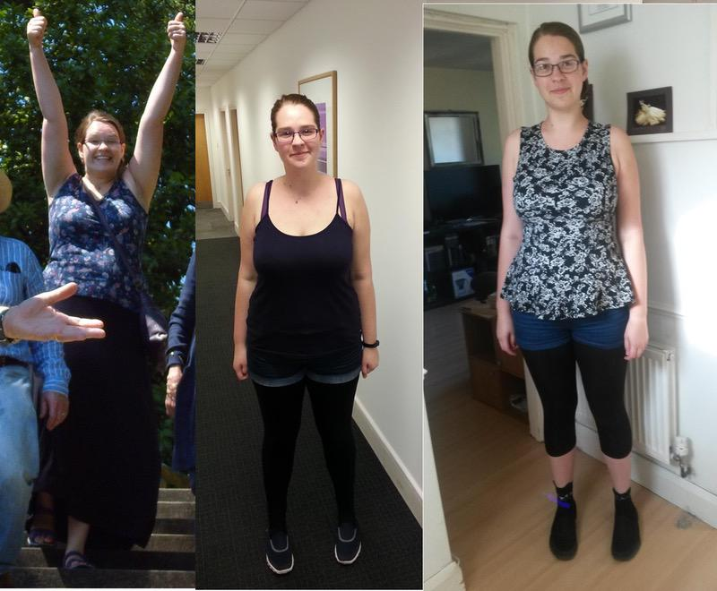 60 lbs Weight Loss Before and After 6 feet 2 Female 253 lbs to 193 lbs