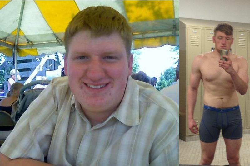 5 feet 11 Male Progress Pics of 100 lbs Fat Loss 240 lbs to 140 lbs