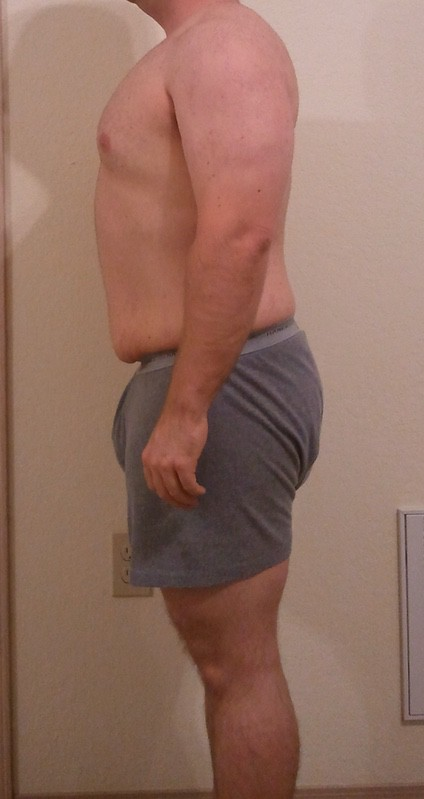 4 Pictures of a 5'3 185 lbs Male Fitness Inspo