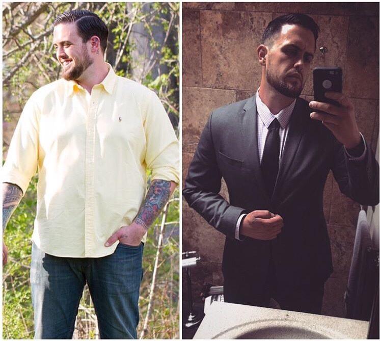 Progress Pics of 42 lbs Weight Loss 6 foot 3 Male 290 lbs to 248 lbs