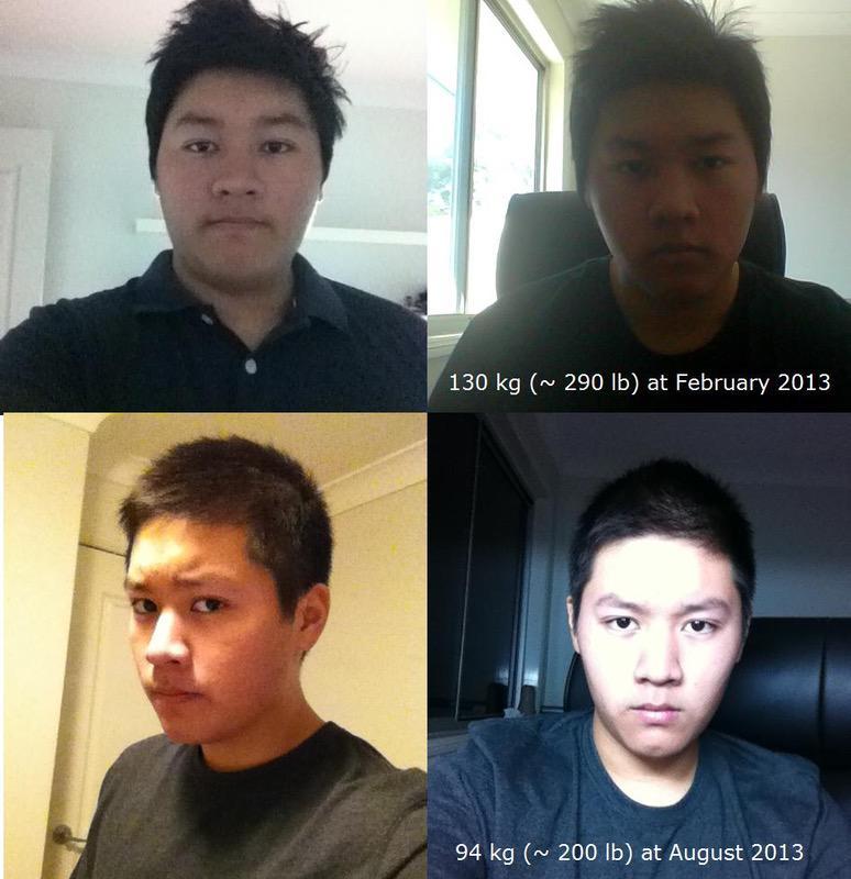 5 feet 9 Male Progress Pics of 80 lbs Weight Loss 286 lbs to 206 lbs