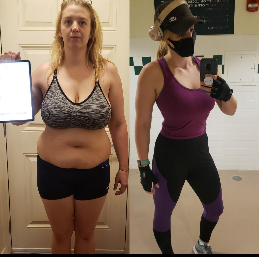 5 feet 7 Female 73 lbs Fat Loss 214 lbs to 141 lbs