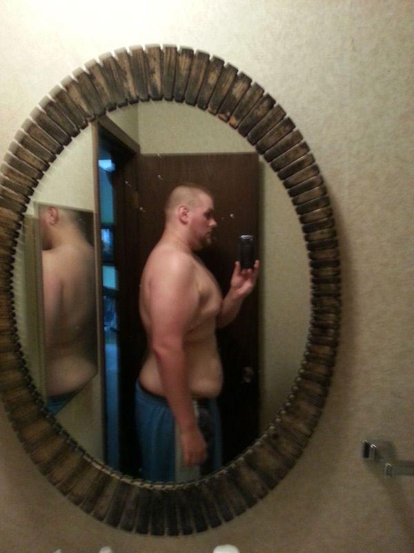 100 lbs Weight Loss 6 feet 1 Male 375 lbs to 275 lbs