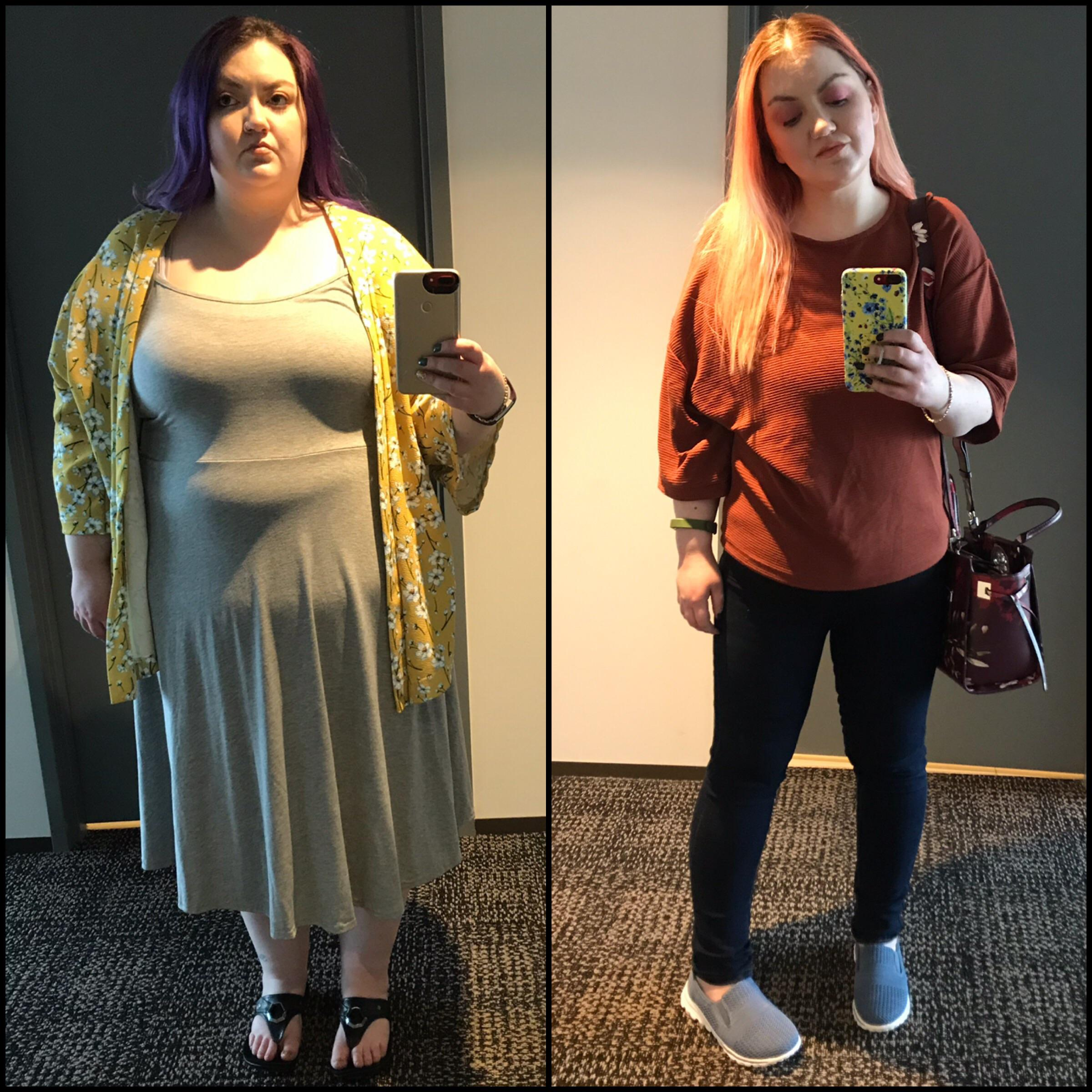 5'4 Female 124 lbs Weight Loss 300 lbs to 176 lbs