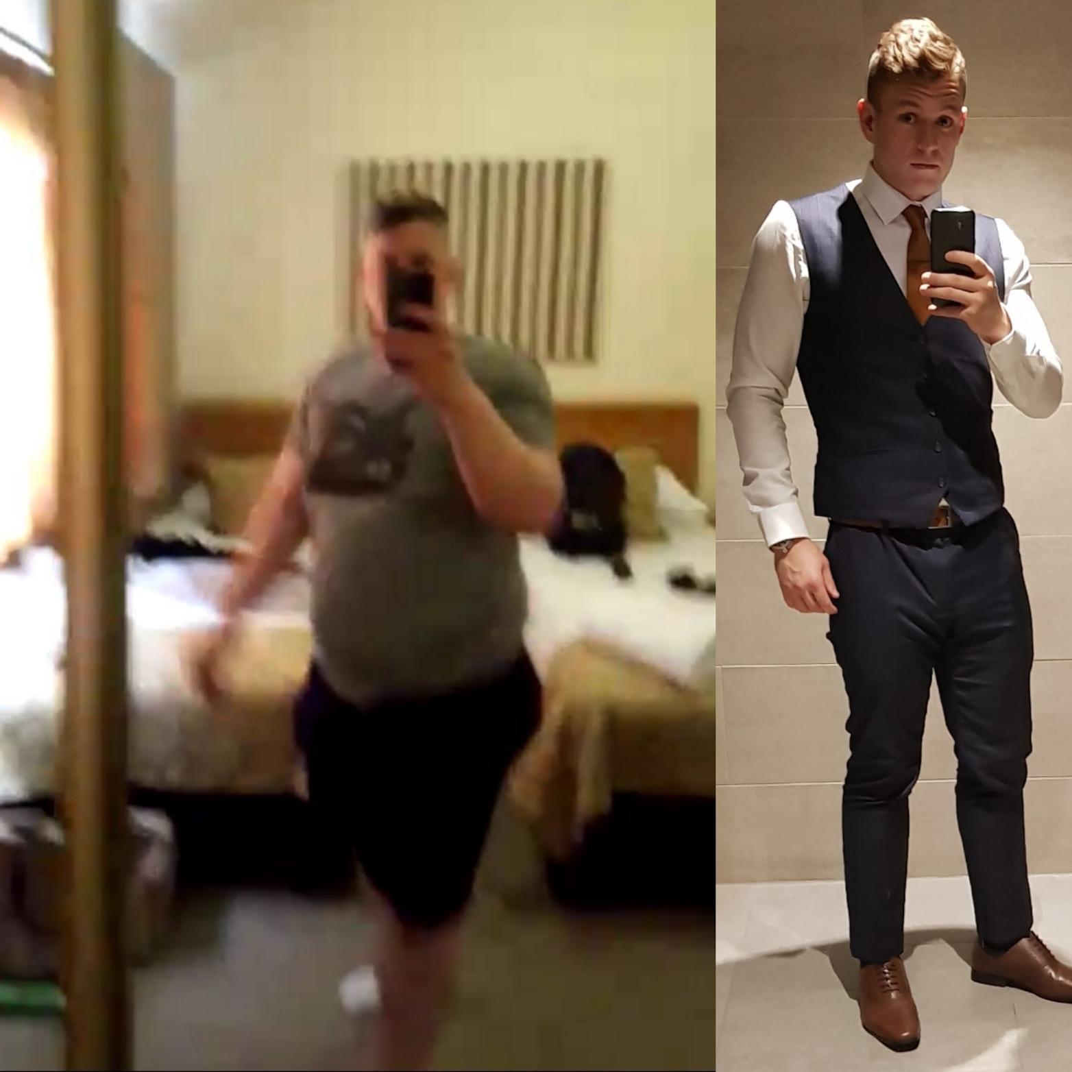 6 feet 2 Male Progress Pics of 171 lbs Fat Loss 376 lbs to 205 lbs